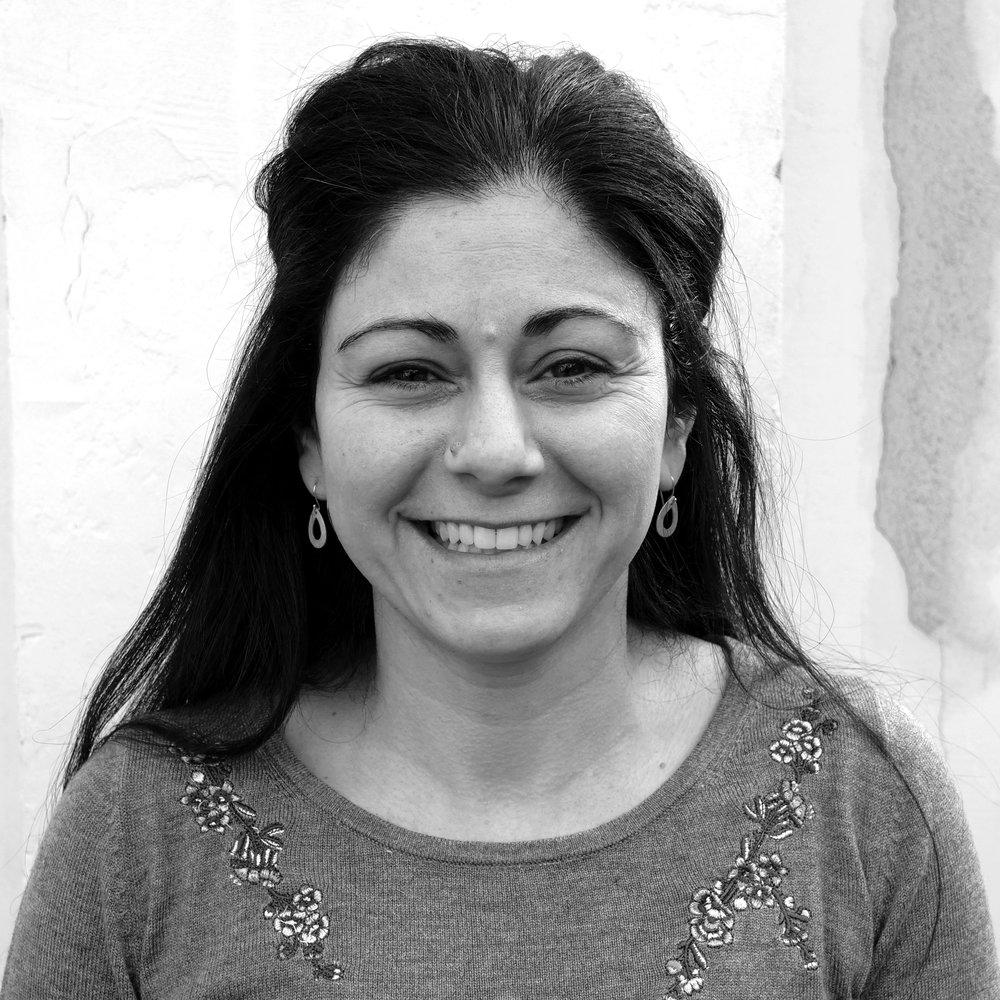Asrin Mesbah, cand.jur., is Trampoline House's legal counselor. Photo: Viktoria Steinhart.