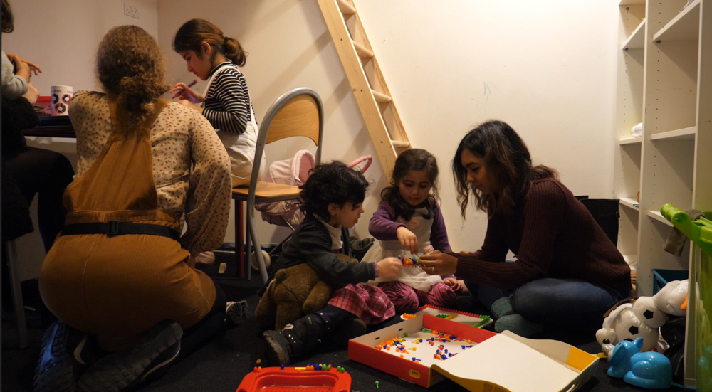 Since the redecoration, the Children's Club has gotten its own room, making space for a safe and structured environment for the children. Photo: Viktoria Steinhart
