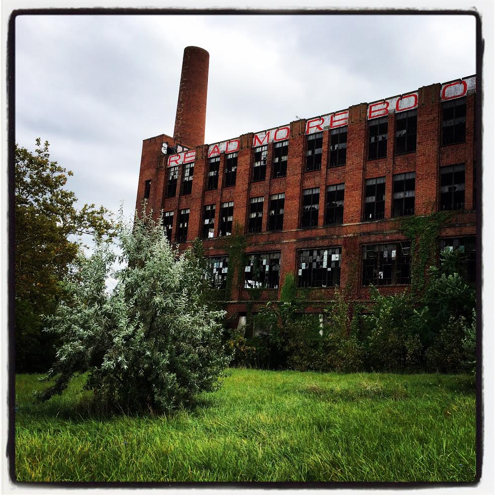 An abandoned historic industrial factory being explored as a possible future home for the future Menlo Park Academy campus.