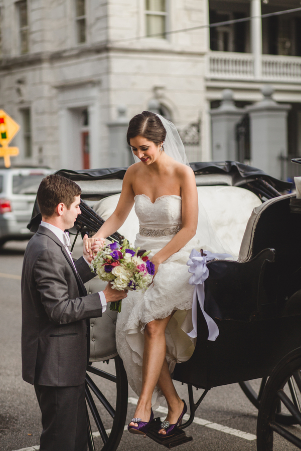 Charleston Wedding Carriage Ride