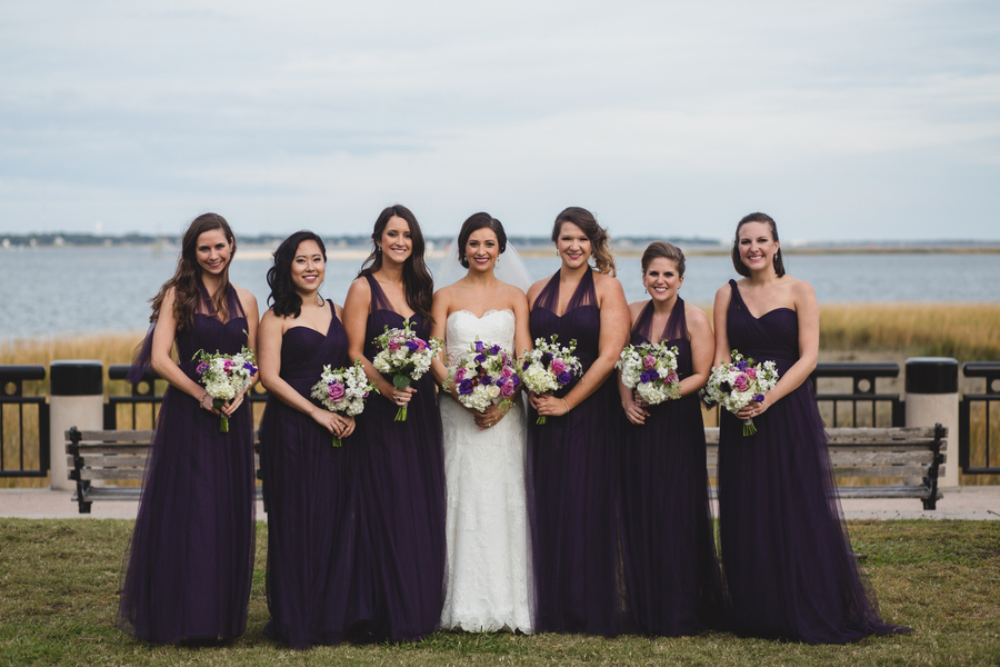 Purple Charleston Wedding