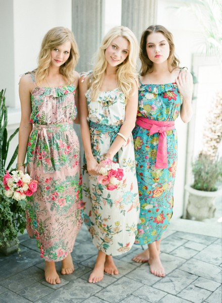 Charleston, Hilton Head, Myrtle Beach Lowcountry Weddings Blog Showcasing  Southern, Lowcountry Bridesmaids Dresses