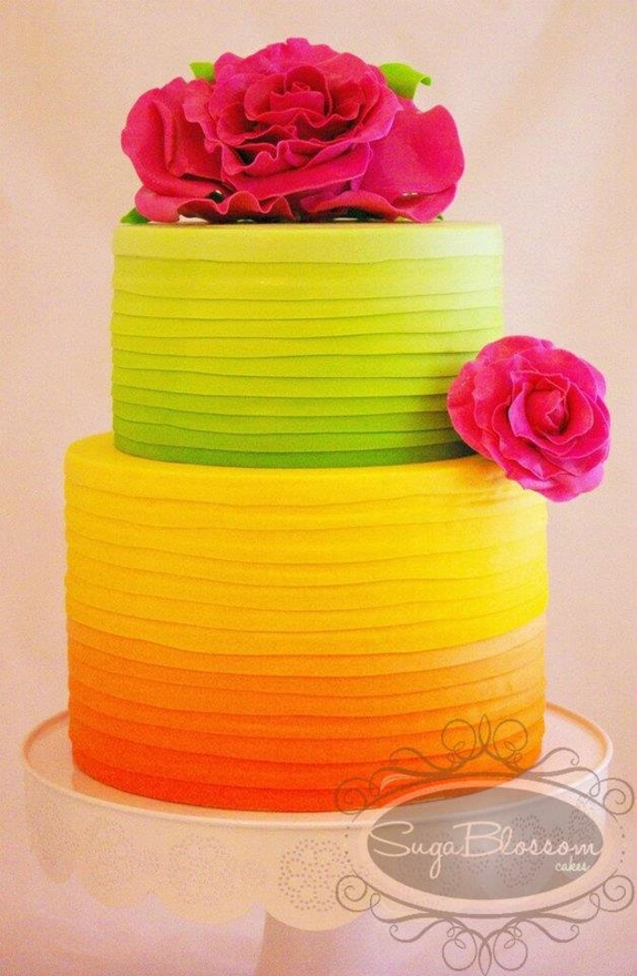 lowcountry weddings, charleston weddings blog, neon wedding details, neon wedding cake