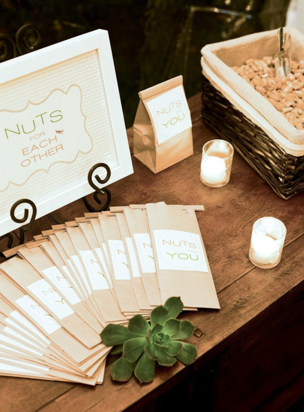 Charleston weddings blog, myrtle beach weddings blog, Hilton Head weddings blog, lowcountry weddings blog, nuts, favors