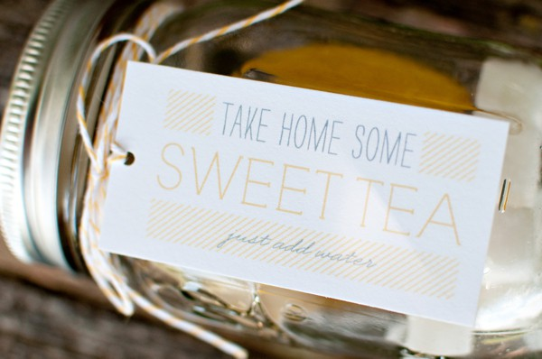 Charleston weddings blog, myrtle beach weddings blog, Hilton Head weddings blog, lowcountry weddings blog, sweet tea, favors