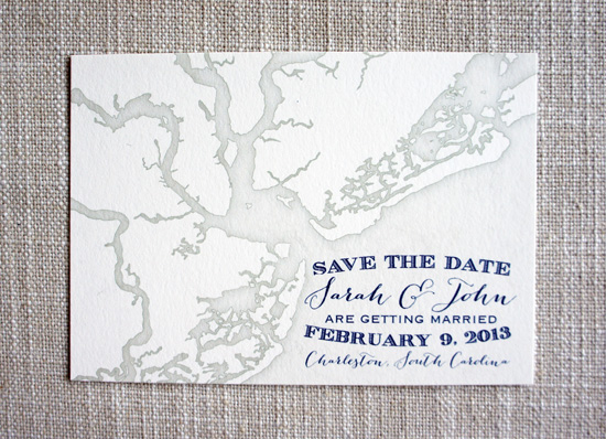 charleston weddings, charleston wedding vendors, hilton head weddings, myrtle beach weddings, scotti cline designs, save the dates, lowcountry weddings