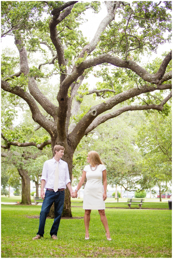 charleston wedding anniversary session at waterfront park by the battery