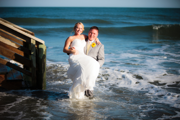charleston wedding at pelican watch shelter on folly beach south carolina, from hilton head wedding photographer richard bell photography