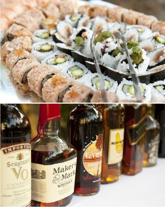 cru catering, charleston wedding caterers