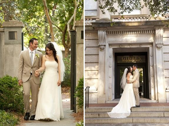 charleston weddings, charleston wedding venues, gibbes museum of art