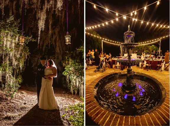 charleston wedding at legare waring house, lowcountry wedding vendors, outdoor evening