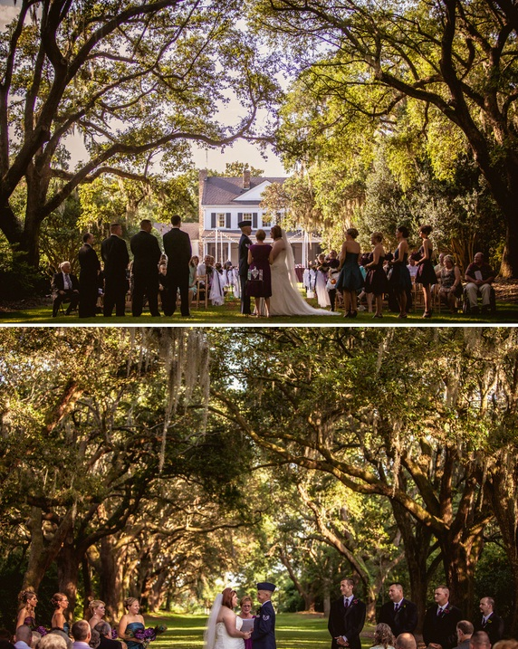 charleston wedding at legare waring house outdoor ceremony from richard bell photography and fraiche event design