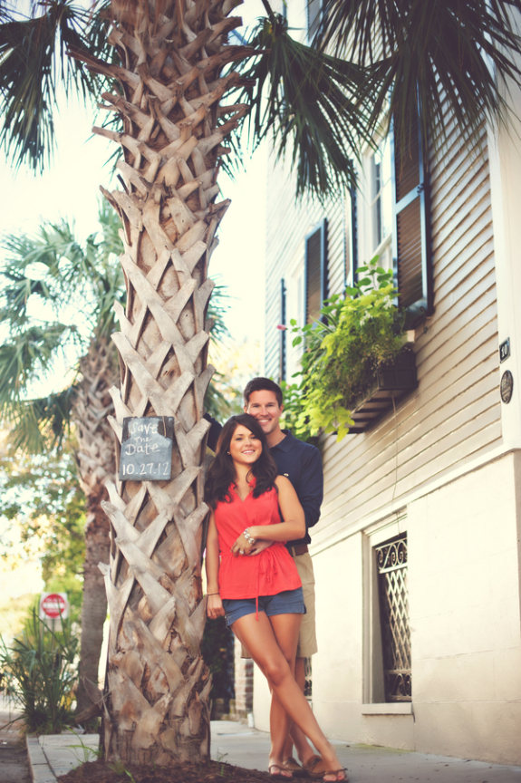 charleston wedding engagement south of broad