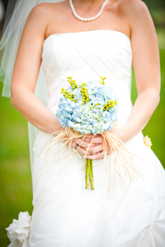 charleston weddings, hydrangea bouquets