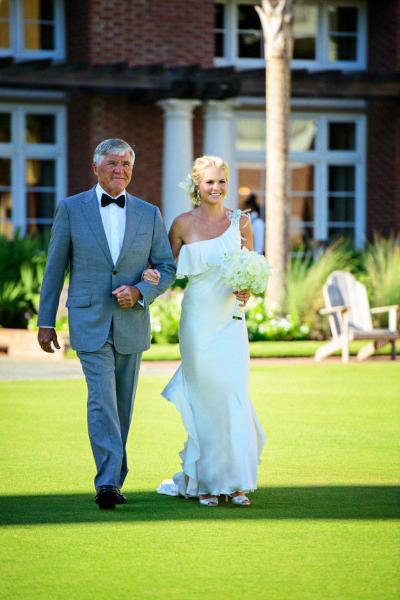 meghan and joe's charleston wedding, outdoor ceremony at the sanctuary