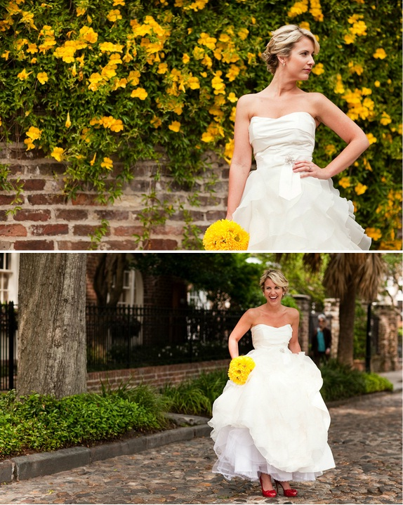 charleston weddings christy's bridal portraits at the marina by courtney dox photography