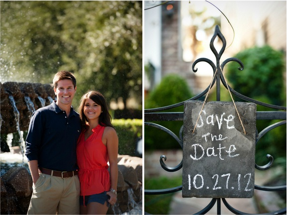 charleston wedding engagement, peach blossom photography