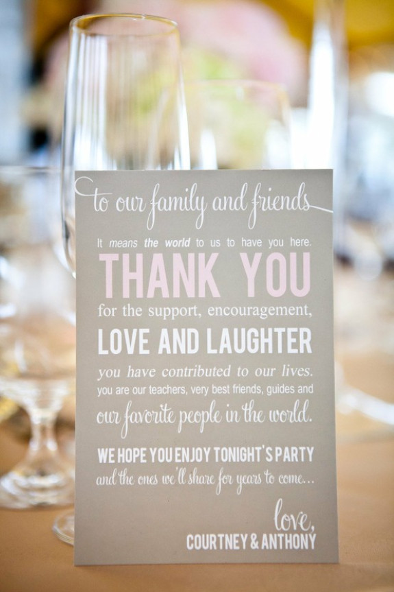 charleston weddings, charleston wedding vendors, charleston wedding blogs, thank you note for guests