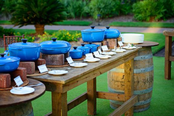 charleston weddings, the sanctuary resort on kiawah island weddings, dinner buffet, outdoor reception