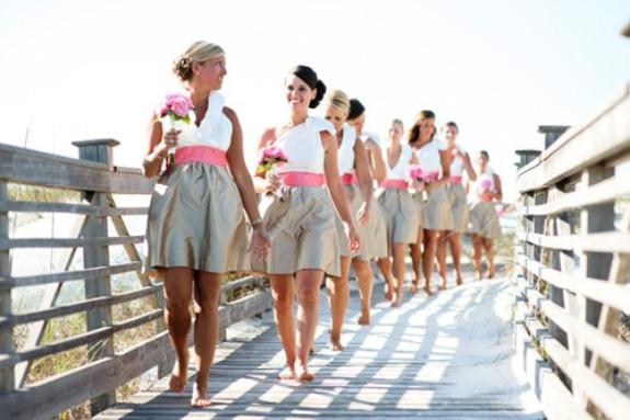 charleston weddings, myrtle beach weddings, lulakate bridesmaids dresses