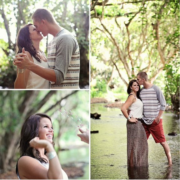 hawaii wedding engagement