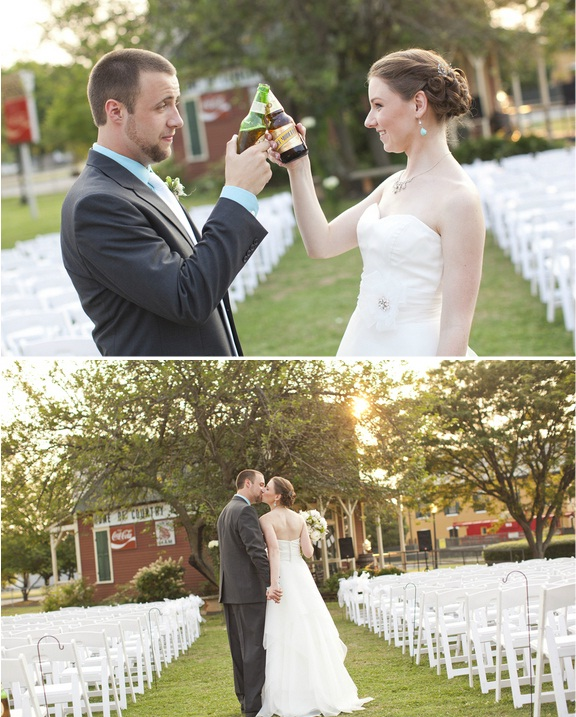 southern wedding at roundhouse depot in huntsville alabama via erin lindsey images