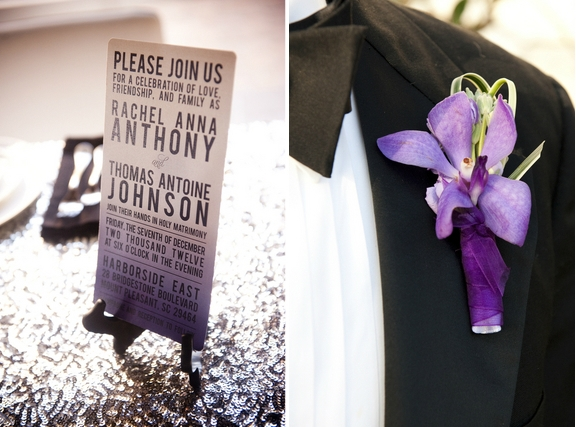 charleston-wedding-purple-orchid-boutonniere