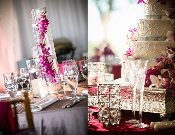 charleston-wedding-purple-orchid-centerpieces