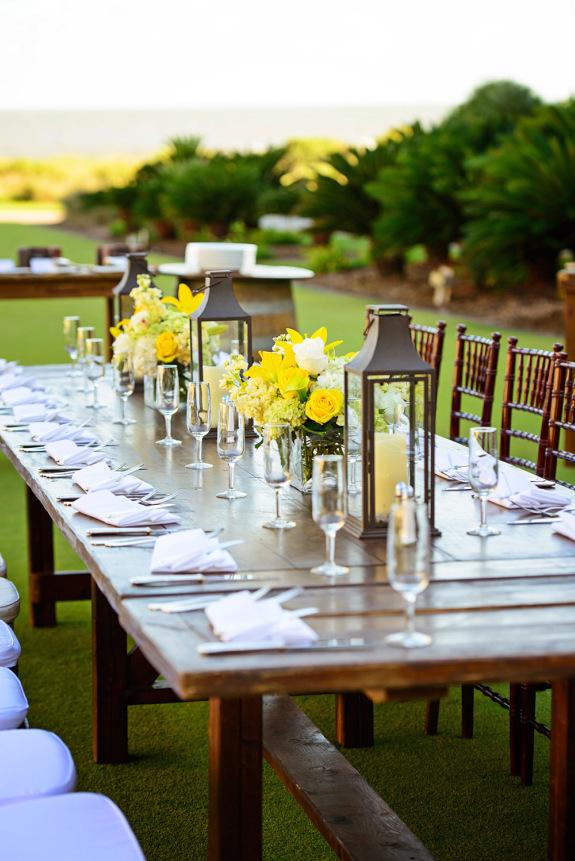 kiawah island weddings at the sanctuary via rl morris photography