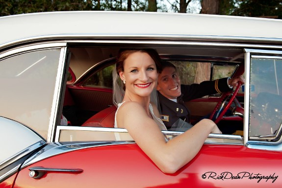 old-antique-wedding-car