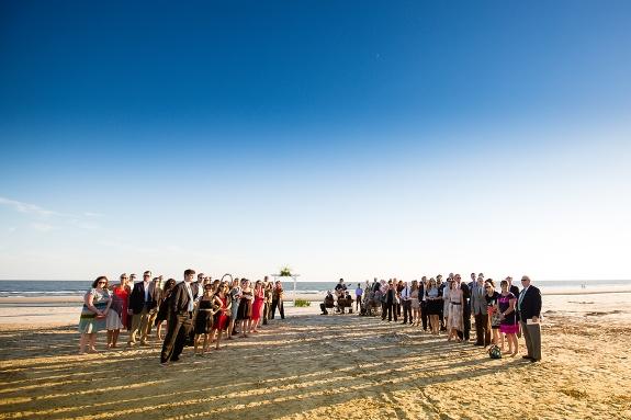citadel beach house weddings in charleston, sc