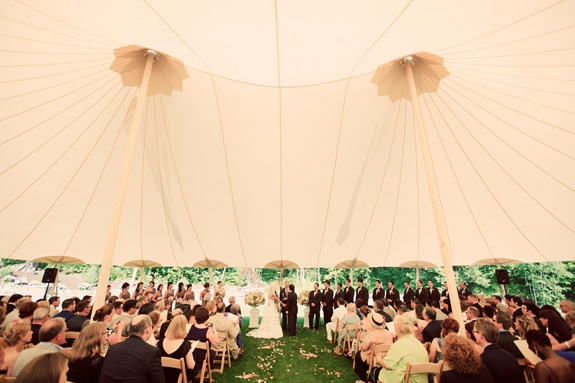 coastal weddings, sperry tents