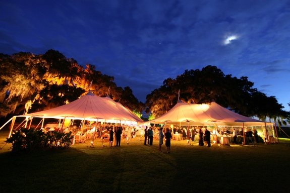 hilton head weddings, sperry tents