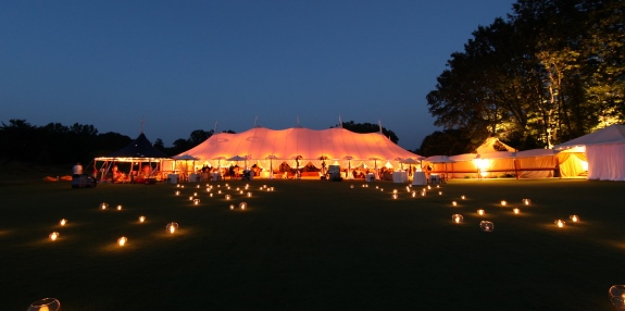 southern weddings, sperry tents