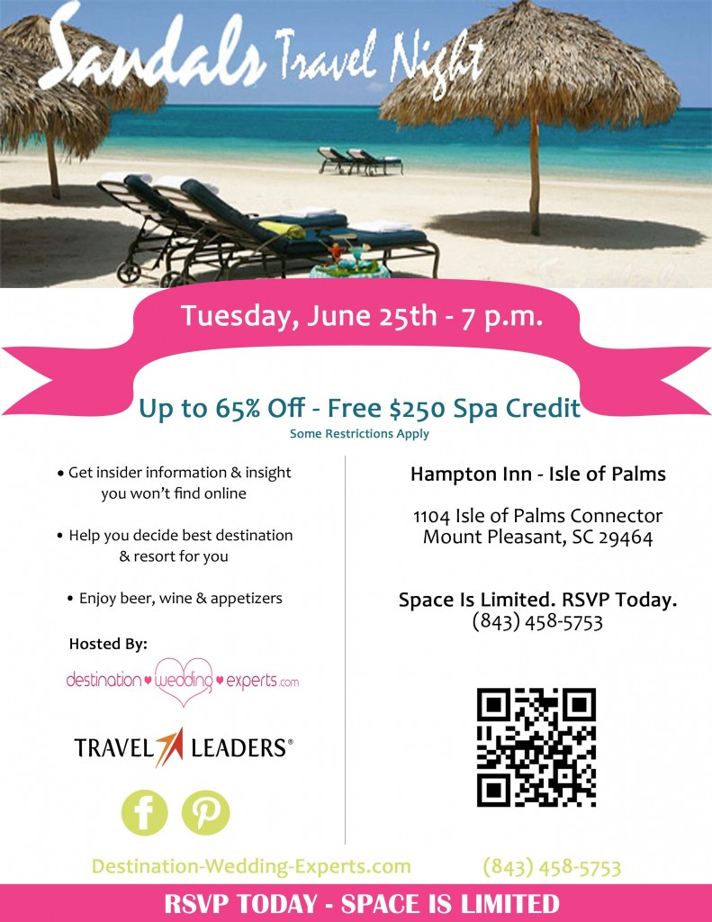 Charleston Event Sandals Travel Night A Lowcountry