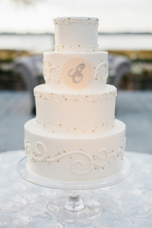 charleston wedding cake from d'lish bakery