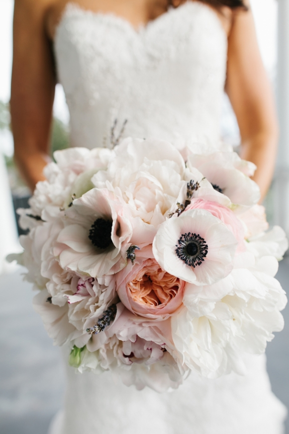 charleston wedding bouquet via violet floral design