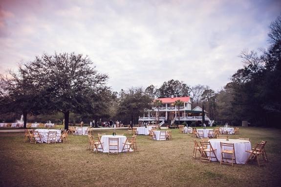 charleston outdoor wedding reception on a lowcountry wedding blog