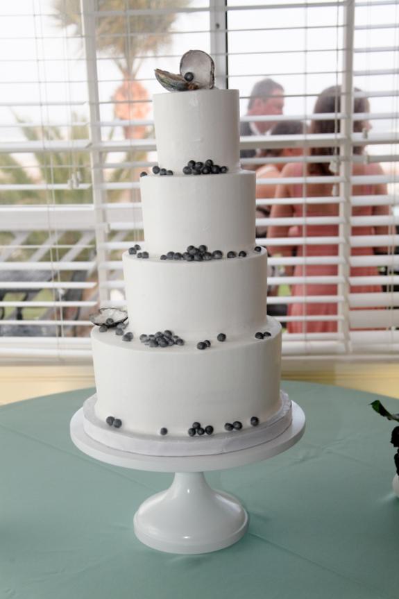 southern wedding cake