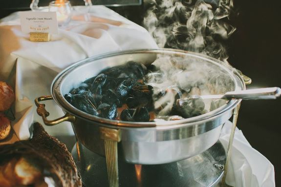 charleston wedding catering oysters