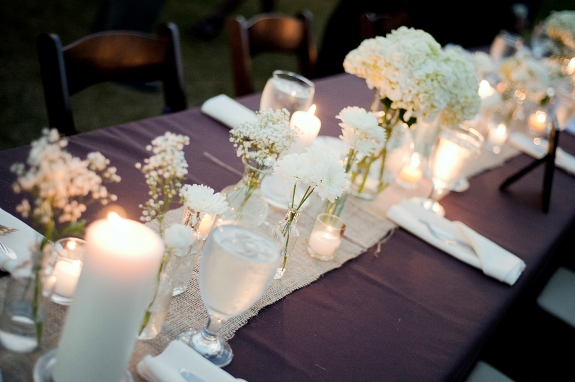 southern wedding tablescape