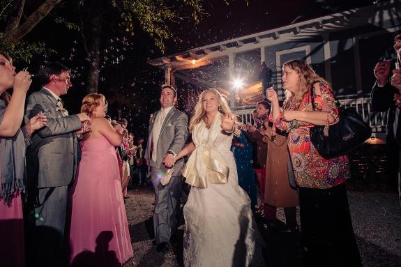 charleston wedding getaway, bubble exit