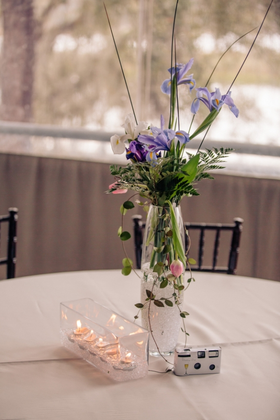 charleston wedding centerpieces