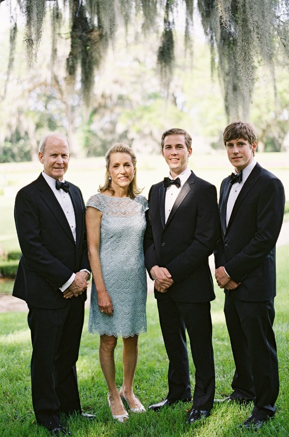 formal charleston wedding black tuxedoes