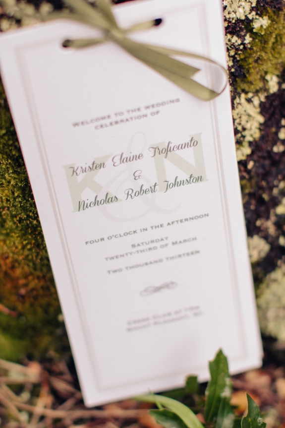 charleston wedding programs