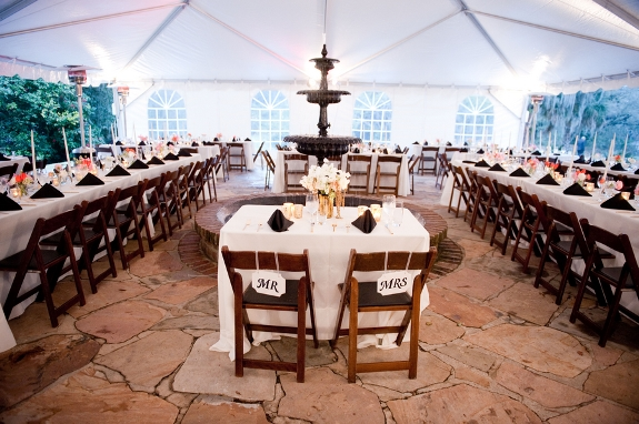 charleston wedding tented reception at legare waring house