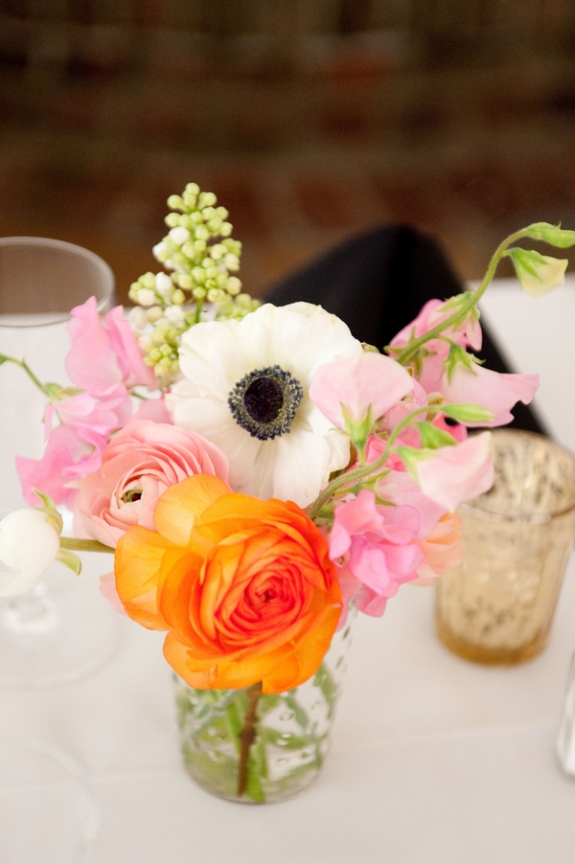 charleston wedding flowers ranuculous and anemone