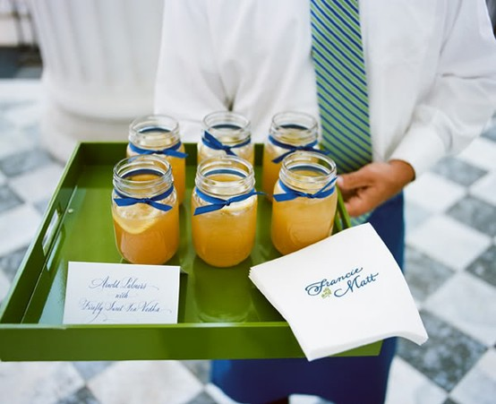 lowcountry wedding specialty drinks spiked arnold palmer