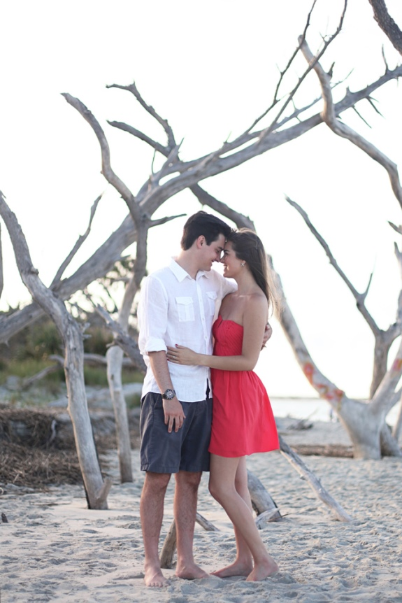 folly beach wedding engagement