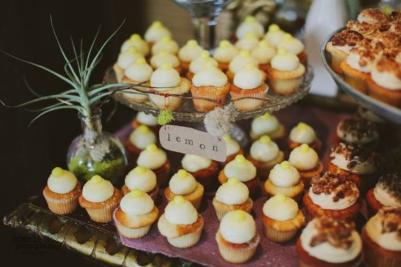 charleston wedding cupcakes
